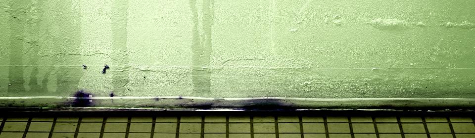 lekkage in muur